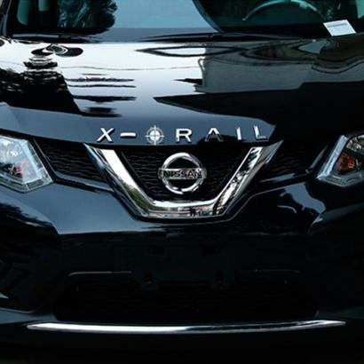 Эмблема на Nissan X-Trail T32