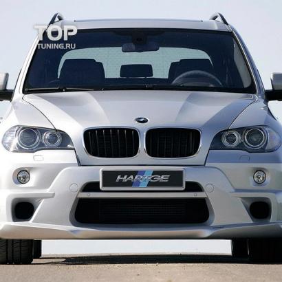 Передний бампер на BMW X5 E70