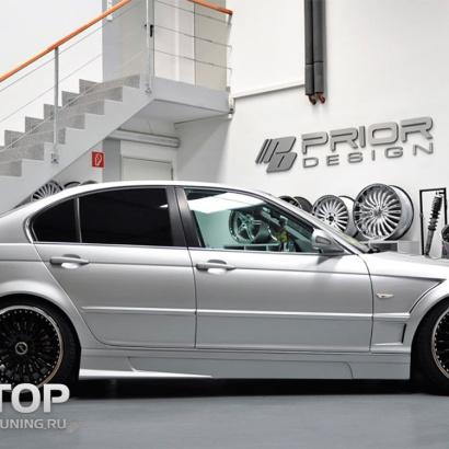Комплект порогов на BMW 3 E46