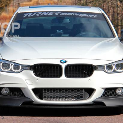 Передний бампер на BMW 3 F30