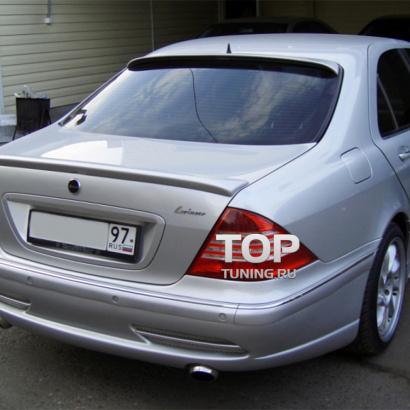 Козырек на заднее стекло на Mercedes S-Class W220