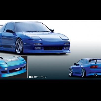 Обвес на Nissan Silvia S13-180SX-200SX-240SX