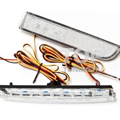 Дополнительные светодиодные стоп-сигналы на Mitsubishi Lancer 10 (X)