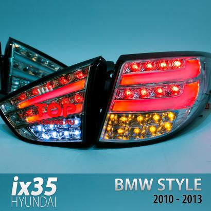 Задние фонари на Hyundai ix35