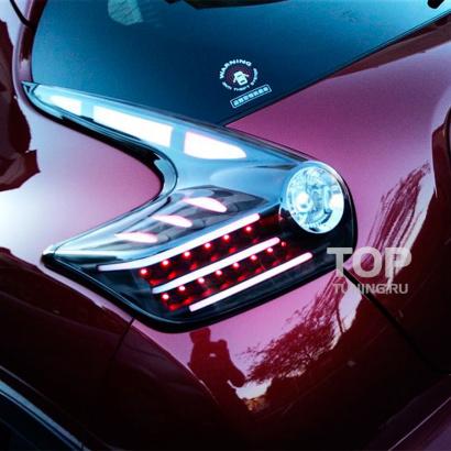 Задние фонари на Nissan Juke