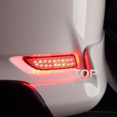 Дополнительные стоп-сигналы на Toyota Corolla E160