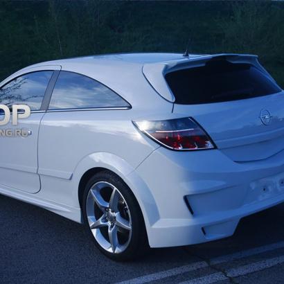 Задний бампер на Opel Astra H GTC