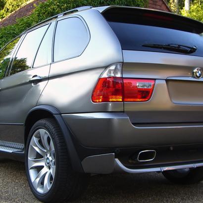 Диффузор заднего бампера на BMW X5 E53