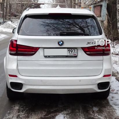 Задний бампер на BMW X5 F15