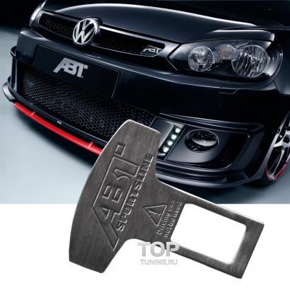 Металлическая обманка на Audi