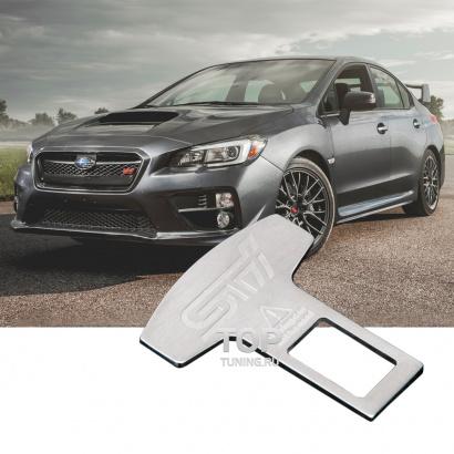 Матовая обманка ремней на Subaru