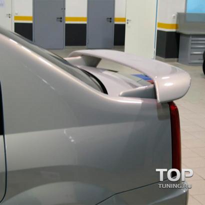 Спойлер крышки багажника на Renault Logan