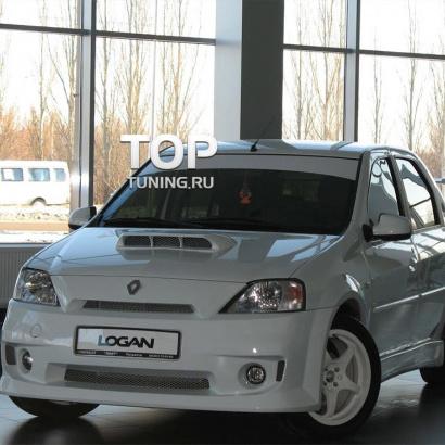 Обвес на Renault Logan