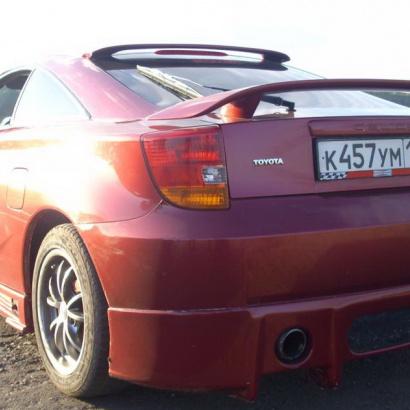 Спойлер на стекло на Toyota Celica T23