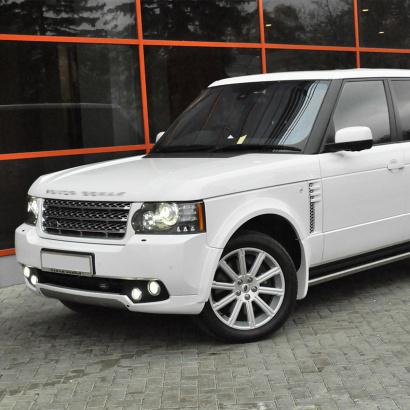 Аэродинамический обвес на Land Rover Range Rover Vogue 3