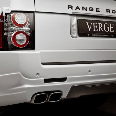 Насадки на выхлопную систему на Land Rover Range Rover Vogue 3