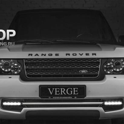 Дневные Ходовые Огни на Land Rover Range Rover Vogue 3