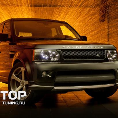 Юбка переднего бампера на Land Rover Range Rover Sport L322