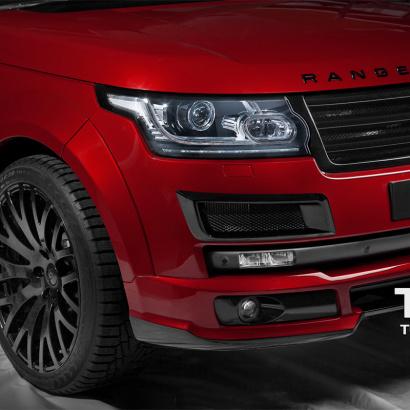 Юбка переднего бапера на Land Rover Range Rover Vogue 4