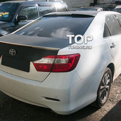 Лип-спойлер на Toyota Camry V50 (7)