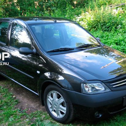 Реснички на Renault Logan