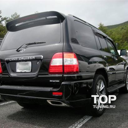 Спойлер крышки багажника на Toyota Land Cruiser 100