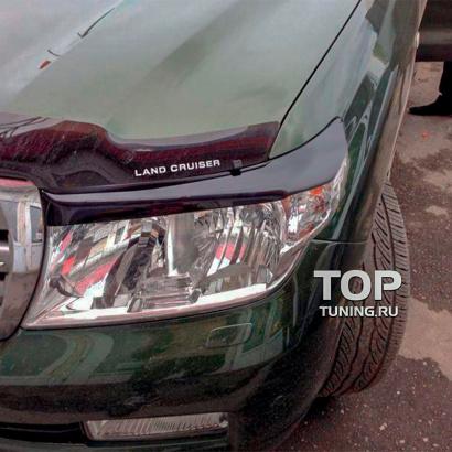 Реснички  на Toyota Land Cruiser 200