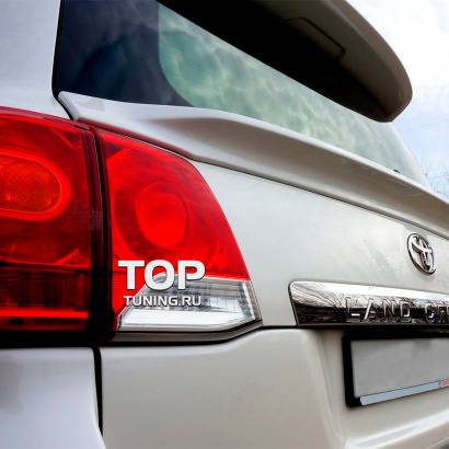 Средний спойлер на Toyota Land Cruiser 200