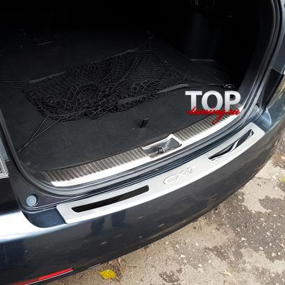 Пластина на задний бампер на Mazda CX-7