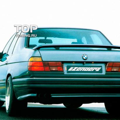 Накладка на задний бампер на BMW 7 E32