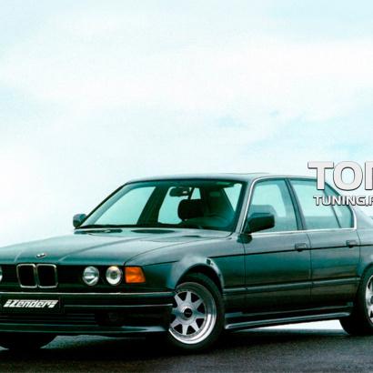 Накладки на пороги на BMW 7 E32