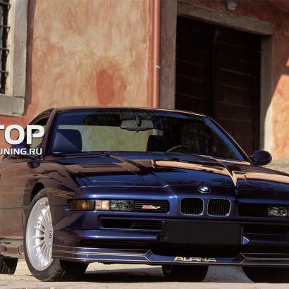 Юбка на передний бампер на BMW 8 E31
