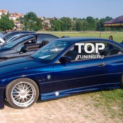 Накладки на пороги на BMW 8 E31