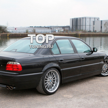 Штатные пороги на BMW 7 E38