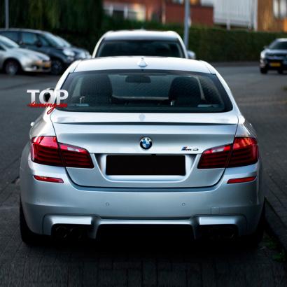 Задний бампер на BMW 5 F10