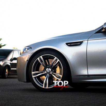 Передние крылья на BMW 5 F10