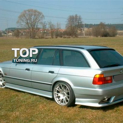 Задний бампер на BMW 5 E34