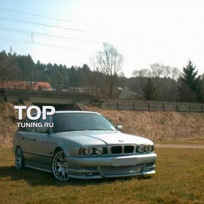 Накладки на пороги на BMW 5 E34