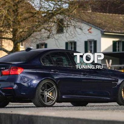 Накладки на пороги на BMW 3 F30