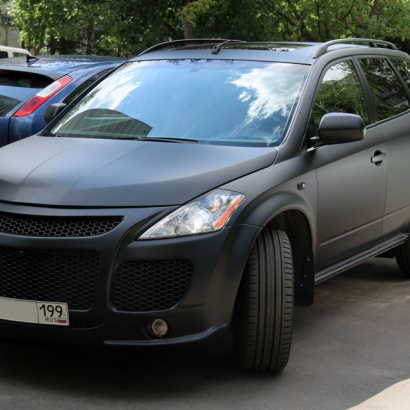 Передний бампер - Обвес на Nissan Murano 1 (Z50)