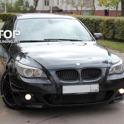 Передний бампер на BMW 5 E60, E61, M5