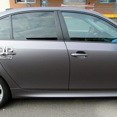 Комплект порогов на BMW 5 E60, E61, M5