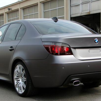 Задний бампер на BMW 5 E60, E61, M5