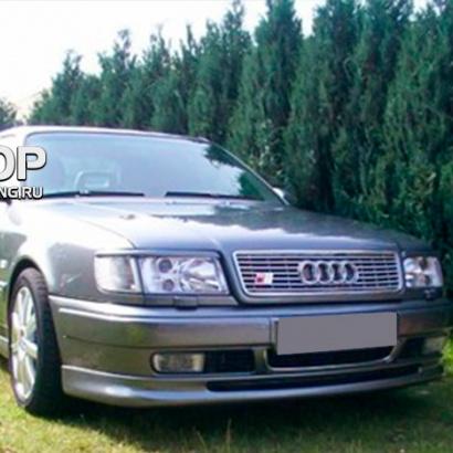 Накладка на передний бампер на Audi 100 C4