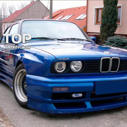 Передний бампер на BMW 3 E30