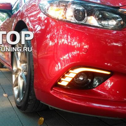 Дневные ходовые огни на Mazda 6 GJ