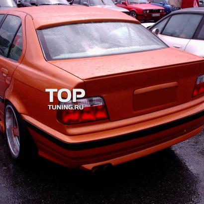Спойлер на крышку багажника на BMW 3 E36