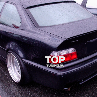 Лип-спойлер на BMW 3 E36