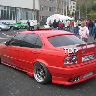 Аэродинамический обвес на BMW 3 E36