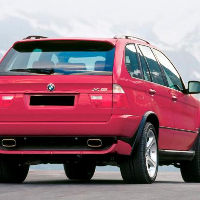 Задние расширители арок на BMW X5 E53